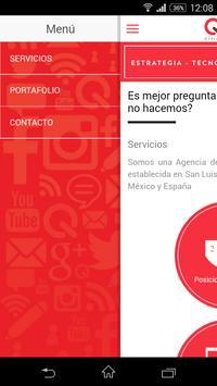 Quantum Marketing Web & Apps poster