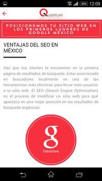 Quantum Marketing Web & Apps apk screenshot