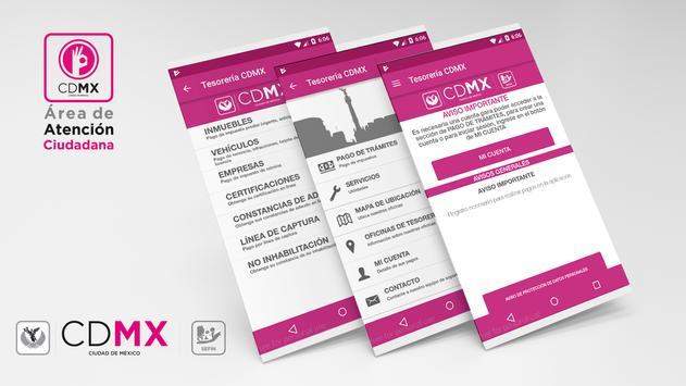 Tesorería CDMX poster