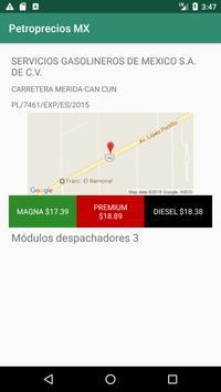 Petroprecios Gasolina Mexico screenshot 1