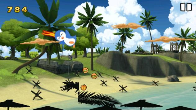 Flying Polar Penguin apk screenshot