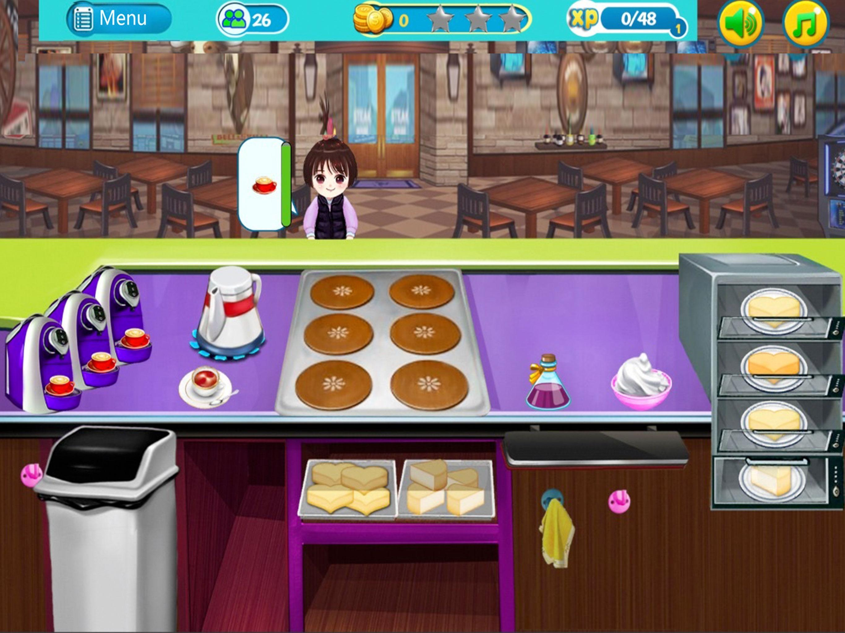 cafe story cafe game-coffee shop restaurant games for ...