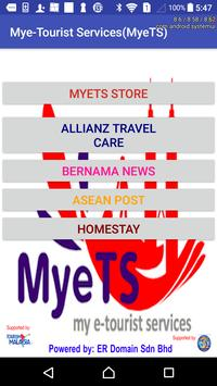 Mye-Tourist Services(MyeTS)-Tourism Malaysia poster