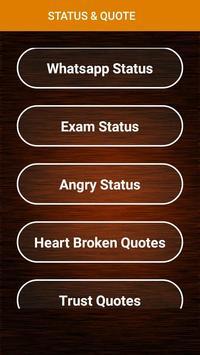 Status Quotes poster