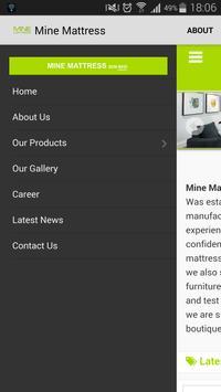 minemattress.com.my poster