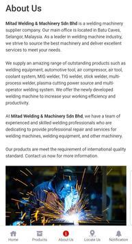 Mitad Welding & Machinery Sdn Bhd screenshot 2