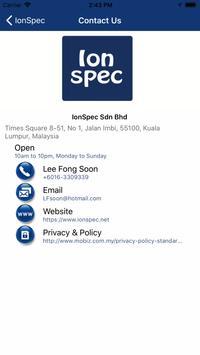 IonSpec screenshot 1