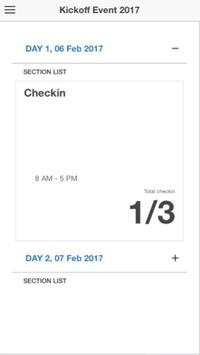 Events Admin screenshot 1