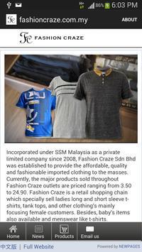 fashioncraze.com.my poster