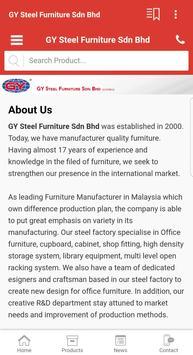 GY Steel Furniture Sdn Bhd apk screenshot