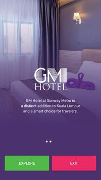GM Hotel Online Booking poster