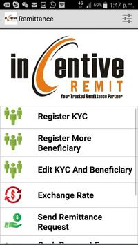 Incentive Remit (IRSB) poster