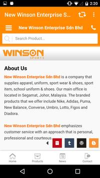 Winson Sports apk screenshot