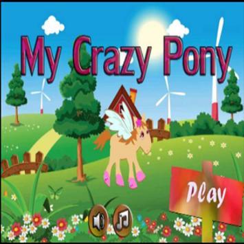 My crazy pony poster