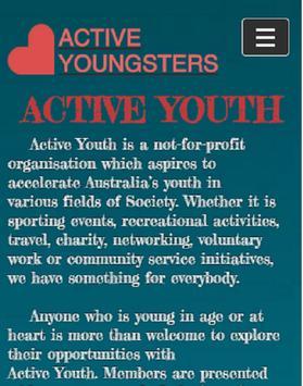 Active Youth apk screenshot