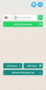 Send WhatsApp Without Save Number & WhatsApp Link poster