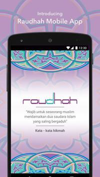 Raudhah poster