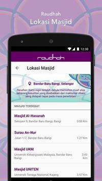 Raudhah screenshot 2