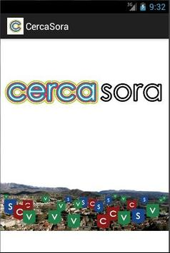 CercaSora poster