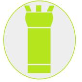 No Tracking Flashlight icon