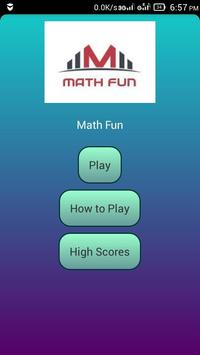 Math Fun poster