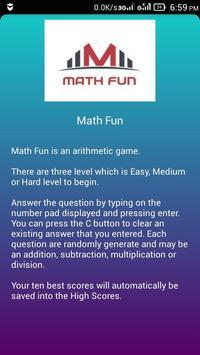Math Fun screenshot 1