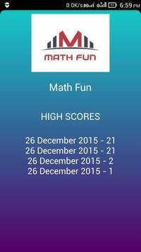Math Fun screenshot 2