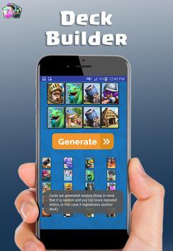 Clash royale deck builder apk screenshot