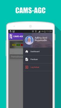 CAMS AGC screenshot 1