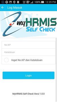 MyHRMIS Self Check apk screenshot