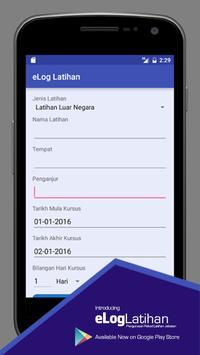 eLog Latihan apk screenshot