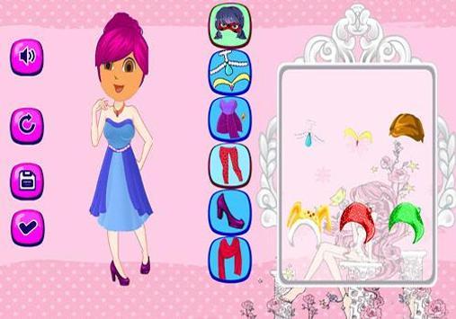 Dora Dress Up Games poster