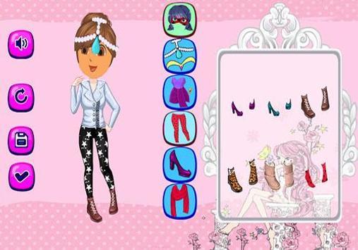 Dora Dress Up Games screenshot 1