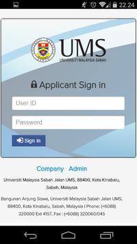 Job Portal UMS poster