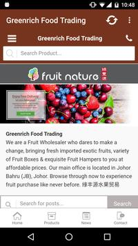 Fruit Nature poster