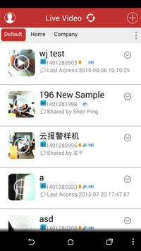 LiveCloud apk screenshot