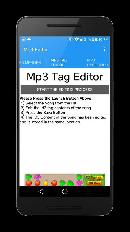 Mp3 Editor Cutter Amp Merger For Android Apk Download