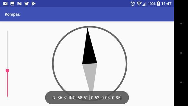 Kompas apk screenshot