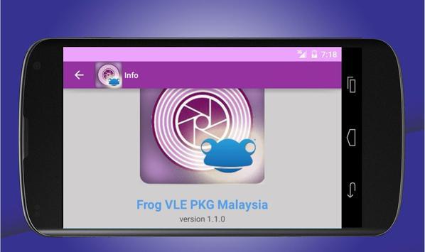 Frog VLE PKG Malaysia apk screenshot