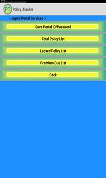 Policy Tracker apk screenshot