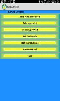 Policy Tracker screenshot 12
