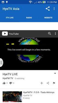 HyeTV Asia apk screenshot