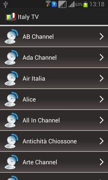 Italy TV Channels Online poster