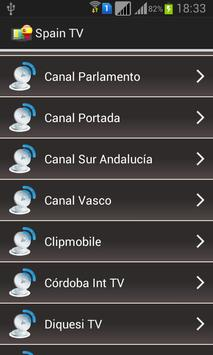 Spain TV Channels Online screenshot 1