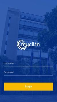 myCII EAM poster