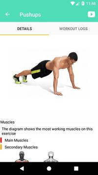 myPushups- Fitness & Push up training (Unreleased) poster