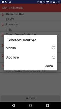 MV Products IN screenshot 1