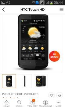 Ecommerce Sample apk screenshot