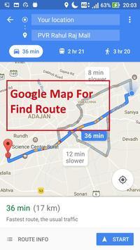 GPS Route Finder screenshot 3