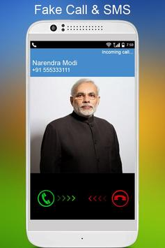 Fake Call & SMS poster